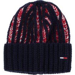 Czapka TOMMY JEANS - Tjw Heavy Knit Beani AW0AW05988 901. Szare czapki zimowe damskie marki Calvin Klein Jeans, na zimę, z jeansu. Za 229,00 zł.