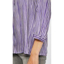 Answear - Bluzka. Szare bluzki nietoperze marki TOMMY HILFIGER, m, z nadrukiem, z bawełny, casualowe, z okrągłym kołnierzem. W wyprzedaży za 59,90 zł.