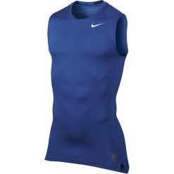 Odzież termoaktywna męska: koszulka termoaktywna męska NIKE PRO COOL COMPRESSION SLEEVELESS / 703092-480 - NIKE PRO COOL COMPRESSION SLEEVELESS