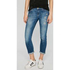 Liu Jo - Jeansy Monroe. Niebieskie jeansy damskie Liu Jo, z bawełny. W wyprzedaży za 699,90 zł.