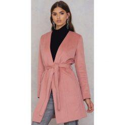 Płaszcze damskie: Twist & Tango Płaszcz Shirley – Pink