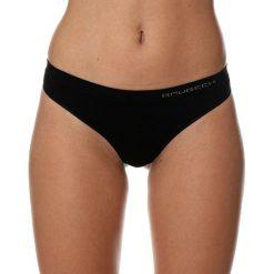 Stringi: Brubeck Stringi damskie Comfort Cotton czarne r. L (TH00182A)