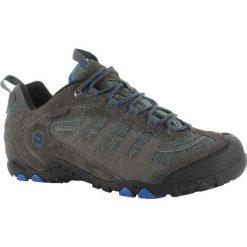 Buty trekkingowe męskie: Hi-tec Buty męskie Perith Low WP Charcoal/Blue r. 40