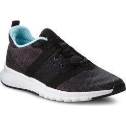 Buty Reebok - Print Lite Rush CN2614 Black/Ash Grey/Blue/Wht. Szare buty do biegania damskie marki Reebok, z materiału. W wyprzedaży za 209,00 zł.