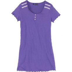 Koszula nocna bonprix hiacyntowy lila - bez. Fioletowe koszule nocne i halki bonprix. Za 34,99 zł.