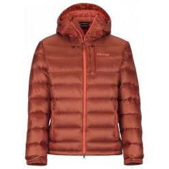 Marmot Męska Kurtka Puchowa Ama Dablam Jacket Dark Rust L. Brązowe kurtki trekkingowe męskie Marmot, m, z puchu. Za 995,00 zł.