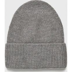 Medicine - Czapka Basic. Szare czapki zimowe damskie MEDICINE, na zimę, z dzianiny. Za 59,90 zł.