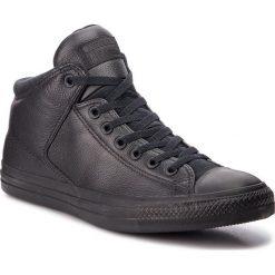 Trampki CONVERSE - Ctas High Street Hi 161473C Black/Black/Black. Czarne tenisówki męskie Converse, z gumy. Za 369,00 zł.