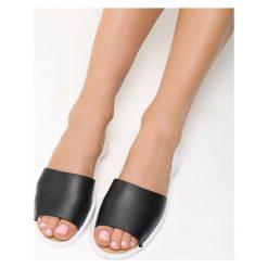 Rzymianki damskie: Czarne Sandały Gummy Elsa