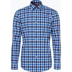HUGO - Koszula męska – Kenno, szary. Niebieskie koszule męskie marki HUGO, m, z bawełny. Za 399,95 zł.