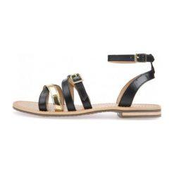 Geox Sandały Damskie Sozy 37 Czarne. Czarne sandały damskie marki Geox. W wyprzedaży za 259,00 zł.