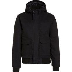 Quiksilver BROOKS ISLAND DWR Kurtka zimowa black. Czarne kurtki chłopięce Quiksilver, na zimę, z bawełny. W wyprzedaży za 341,10 zł.