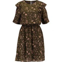 Sukienki hiszpanki: ICHI CEBARO Sukienka letnia dark grape leaf