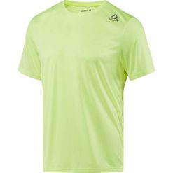 Koszulka do biegania męska REEBOK RUNNING SHORT SLEEVE TEE / BQ7451 - REEBOK RUNNING SHORT SLEEVE TEE. Zielone koszulki do biegania męskie Reebok, m, z krótkim rękawem. Za 69,00 zł.