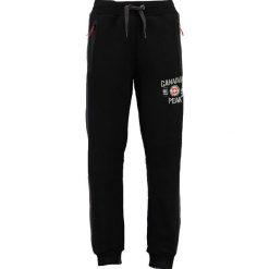 """Joggery męskie: Spodnie dresowe """"Muntor"""" w kolorze czarnym"""