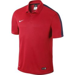 Nike Koszulka męska Squad15 SS Sideline Polo  czerwona r. S  (645538-657). Koszulki polo Nike, m. Za 134,50 zł.