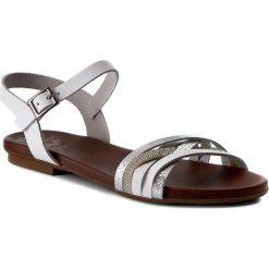 Rzymianki damskie: Sandały PORRONET - WP0-2210 Biały