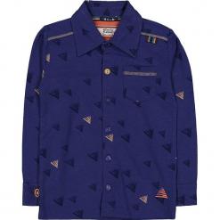"""Koszula """"Spirit In The Sky"""" w kolorze granatowym. Niebieskie koszule chłopięce marki 4FunkyFlavours Kids, z klasycznym kołnierzykiem. W wyprzedaży za 102,95 zł."""