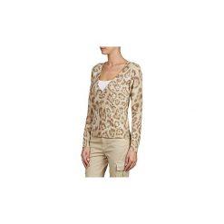 Swetry rozpinane / Kardigany Alba Moda  ANELIE. Brązowe kardigany damskie Alba Moda. Za 351,20 zł.