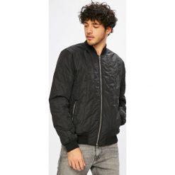 Calvin Klein Jeans - Kurtka bomber. Czarne kurtki męskie bomber marki Calvin Klein Jeans, l, z elastanu. Za 649,90 zł.