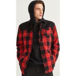 Koszula w kratę - Czerwony. Czerwone koszule męskie marki Cropp, l. Za 159,99 zł.