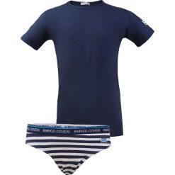 Odzież dziewczęca: Chłopięcy komplet: slipy i podkoszulka Enrico Coveri