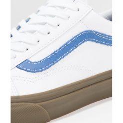 Vans UA OLD SKOOL Tenisówki i Trampki true white/delft. Szare tenisówki męskie marki Vans, z materiału. W wyprzedaży za 186,45 zł.