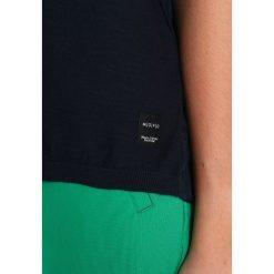 T-shirty damskie: Marc O'Polo DENIM SHORT SLEEVE OVERLAP Tshirt z nadrukiem lunar blue