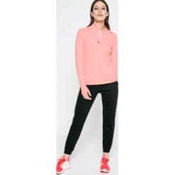 Reebok - Bluza. Szare bluzy sportowe damskie marki Reebok, l, z dzianiny, z okrągłym kołnierzem. W wyprzedaży za 169,90 zł.
