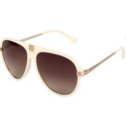 """Okulary przeciwsłoneczne damskie: Okulary przeciwsłoneczne """"BL205703"""" w kolorze kremowym"""