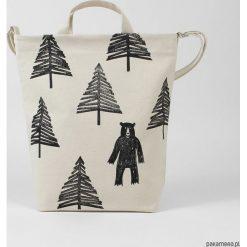 Naturalna torba na zakupy Miś. Szare torby na ramię męskie Pakamera. Za 149,00 zł.