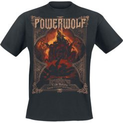 Powerwolf Vade Satana - Metal Is Religion T-Shirt czarny. Czarne t-shirty męskie z nadrukiem Powerwolf, xl, z dekoltem na plecach. Za 89,90 zł.