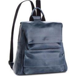 Plecak VERSO - 3843A0BDA Niebieski. Niebieskie plecaki damskie Verso, z nubiku, eleganckie. W wyprzedaży za 259,00 zł.