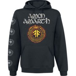 Amon Amarth The pursuit of vikings Bluza z kapturem czarny. Brązowe bluzy męskie rozpinane marki Black Premium by EMP, xxl, z kapturem. Za 184,90 zł.