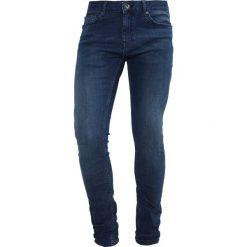 Jeansy męskie regular: Topman Jeans Skinny Fit blue