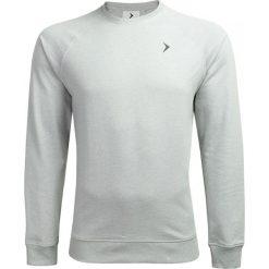 Bluza męska BLM600 - chłodny jasny szary melanż - Outhorn. Szare bluzy męskie rozpinane Outhorn, m, melanż. W wyprzedaży za 59,99 zł.