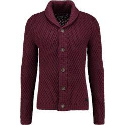 Swetry rozpinane męskie: Petrol Industries Kardigan burgundy