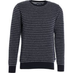 Barbour DOUGLAS CREW Sweter navy. Niebieskie swetry klasyczne męskie Barbour, m, z bawełny. W wyprzedaży za 349,30 zł.