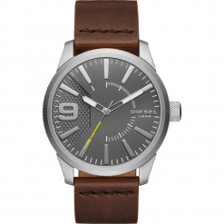 Zegarek DIESEL - Rasp DZ1802 Brown/Silver. Brązowe zegarki męskie Diesel. Za 589,00 zł.