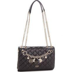 Torebka GUESS - HWVG71 07210  BLA. Czarne torebki klasyczne damskie Guess, z aplikacjami, ze skóry ekologicznej. Za 629,00 zł.