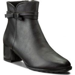 Botki EKSBUT - 67-4708-155-1G Polar Czarny. Czarne buty zimowe damskie Eksbut, z polaru. W wyprzedaży za 259,00 zł.