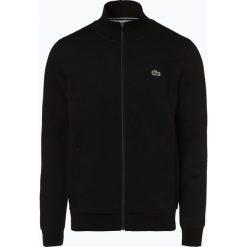 Lacoste - Męska bluza rozpinana Sportswear, czarny. Czarne bejsbolówki męskie Lacoste, l, z bawełny. Za 449,95 zł.