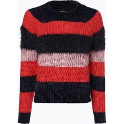 ONLY - Sweter damski – Onljoelle, niebieski. Niebieskie swetry klasyczne damskie ONLY, l, z dzianiny. Za 129,95 zł.