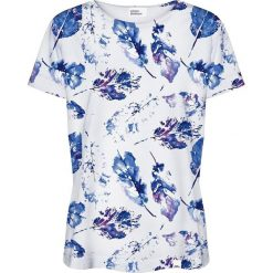 Colour Pleasure Koszulka damska CP-030 154 biało-niebieska r. XS/S. T-shirty damskie Colour pleasure, s. Za 70,35 zł.