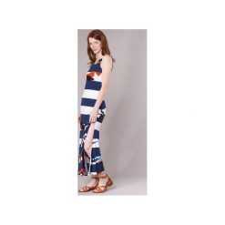 Sukienki długie Desigual  WADOAP. Niebieskie sukienki marki Desigual, s. Za 307,30 zł.