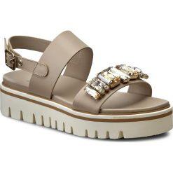 Buty damskie: Sandały BALDININI – 799005P13ZGARO2075 Bulgaro Lino