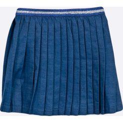 Blukids - Spódnica dziecięca 98-128 cm. Niebieskie spódniczki dziewczęce Blukids, z bawełny, mini. W wyprzedaży za 59,90 zł.
