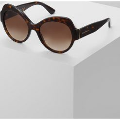 Dolce&Gabbana Okulary przeciwsłoneczne brown. Brązowe okulary przeciwsłoneczne damskie lenonki Dolce&Gabbana. Za 769,00 zł.