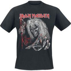 Iron Maiden Ed Kills Again T-Shirt czarny. Czarne t-shirty męskie z nadrukiem Iron Maiden, xl, z okrągłym kołnierzem. Za 74,90 zł.
