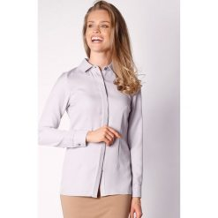 Koszule wiązane damskie: Koszula w kolorze szarym